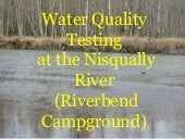 Nisqually MIddle School Water Quali...