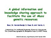 Roux - A global information and kno...