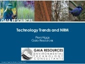 Technology Trends and NRM - Tipping...