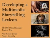 Multimedia Storytelling Lexicon