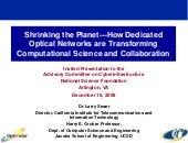 Shrinking the Planet—How Dedicated ...