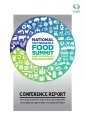 National Sustainable Food Summit Co...