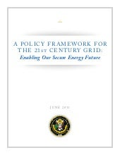 White House Smart Grid Strategy for...