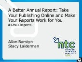 A Better Annual Report  - See3 Comm...