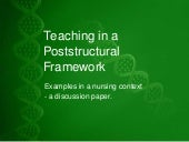 NTLTC 2011 - Teaching in a Poststru...