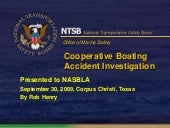 NTSB Cooperative Boating Accident I...