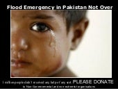 Flood Emergency in Pakistan is Not ...