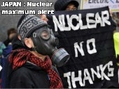 JAPAN -Maximum nuclear alert - marc...
