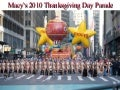Macy's 2010 Thanksgiving Day Parade
