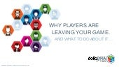Mark Robinson 'Why Players Are Leaving Your Game' Delta DNA