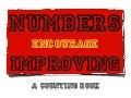 Numbers Encourage Improving: A Counting Book