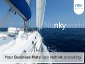 Nunkyworld, Your Business Mate. Lets rethink consulting!!