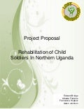 Project Management Report - Rehabilitation of Child Soldiers