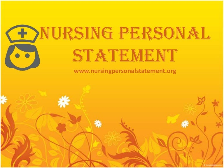 nursing personal essay