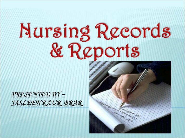 Writing as a Professional Nurse - Purdue OWL