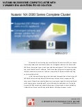 Nutanix NX-2000 Series Complete Cluster with VMware View: An integrated VDI solution