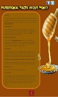 Nutritional facts about honey