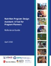 Nutrition program design and planning