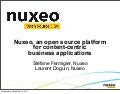 Nuxeo, an open source platform for content-centric business applications