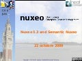 Nuxeo 5.3 and Semantic R&D
