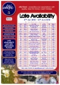 Alfa Travel Late Availability departures from North West - 02/06/10 - 21/06/10