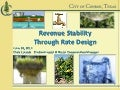 City of Conroe Revenue Stability Through Rate Design