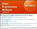 User Experience Matters: Making Sure Web Experiences Don't Suck