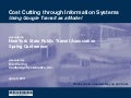 Cost Cutting through Information Systems: Using Google Transit as a Model