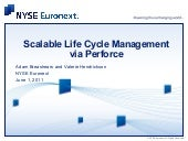 Scalable Lifecycle Management via P...