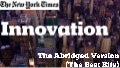 The New York Times / NYT Innovation Report - Abridged Version