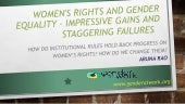 Women's Rights and Gender Equality ...