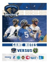Game Notes - Hounds at Lizards - 6/20/15
