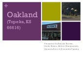 Official Oakland community assessment