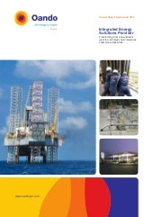 Oando Annual Report 2012