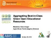 Aggregating Best-in-Class Green Ope...