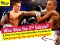 Obama Romney Debate Winner: How to give Powerful Presentations using Aristotle's Formula