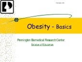 Obesity overview
