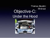 Objective-C: Under The Hood