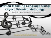 Object oriented methodology & unifi...