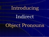 Object Pronouns 3