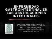 Obstrucciones Y Diarreas