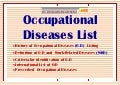 Occupational  Diseases - International List