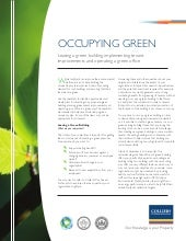 Occupying Green