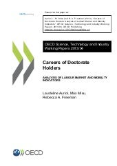 Careers of Doctorate Holders