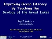 Improving Ocean Literacy by Teachin...