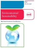 Oce Sustainability White Paper