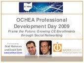 OCHEA Professional Development Day ...
