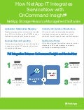 How NetApp IT Integrates ServiceNow with OnCommand Insight (OCI)