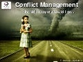 Conflict Management in a school environment