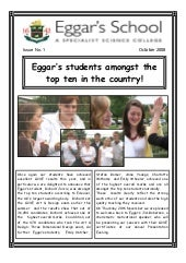 October 2008 School Newsletter